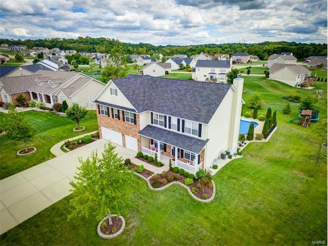 612 Golden Briar Lane, Columbia, IL 62236 (#17071691) :: Fusion Realty, LLC