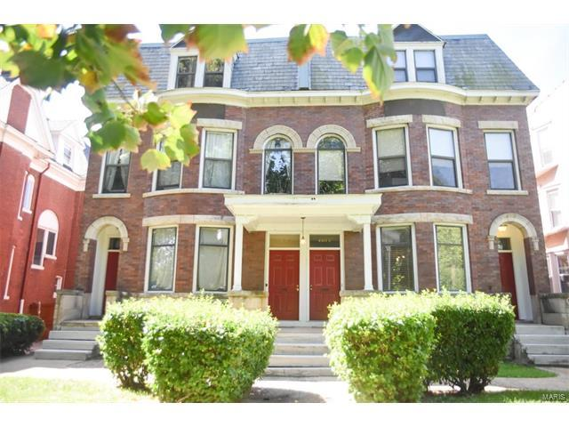 4366 W West Pine A, St Louis, MO 63108 (#17072723) :: Carrington Real Estate Services