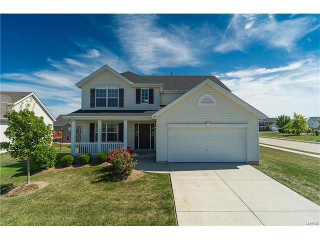 1100 Meadowview Lane, Shiloh, IL 62221 (#17072912) :: Fusion Realty, LLC