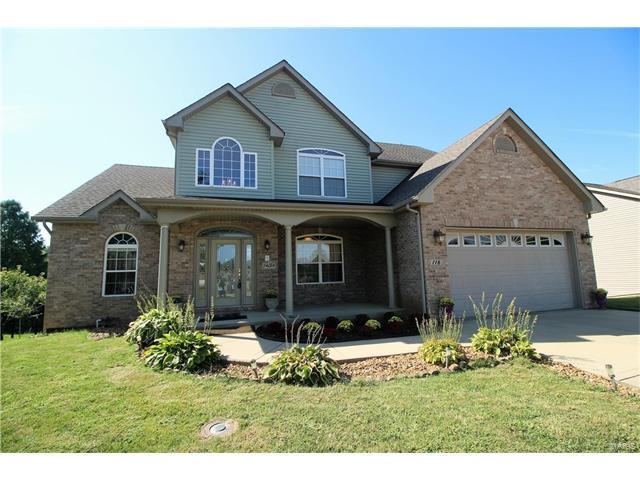 116 Stonebridge Crossing, Maryville, IL 62062 (#17072954) :: Fusion Realty, LLC