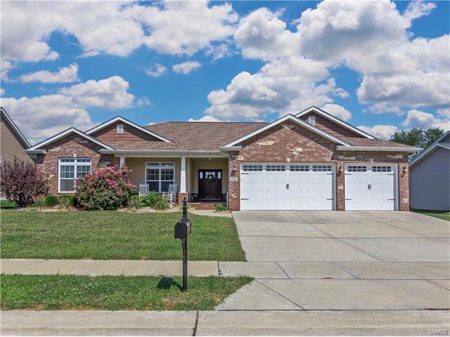 133 Meridian Oaks Drive, Glen Carbon, IL 62034 (#17073572) :: Fusion Realty, LLC