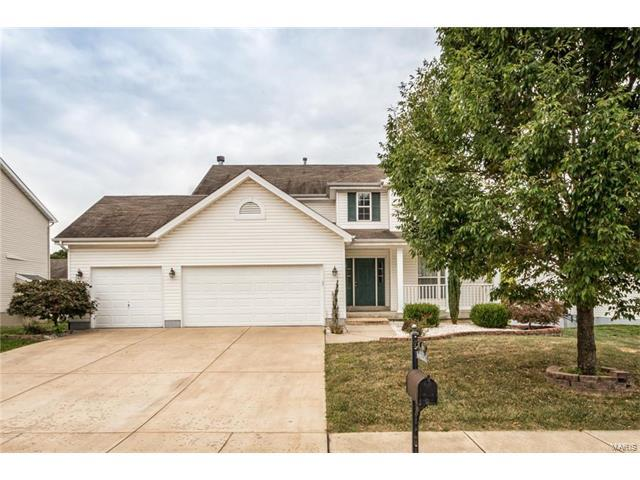 550 Michelle Drive, Columbia, IL 62236 (#17074741) :: Holden Realty Group - RE/MAX Preferred