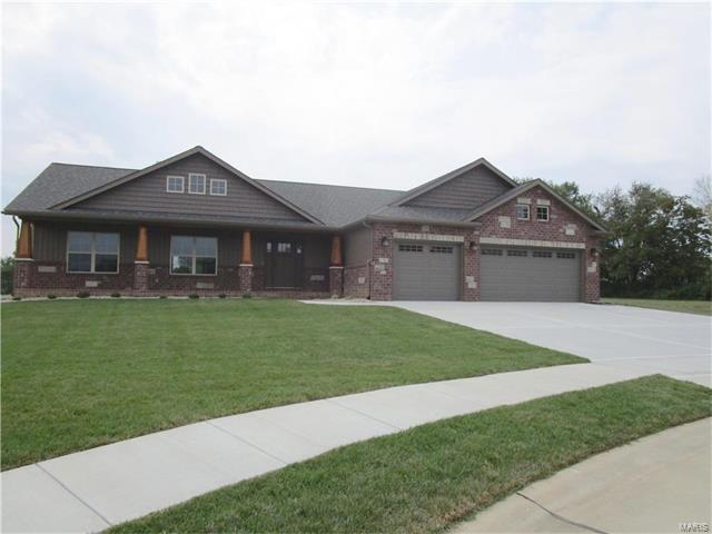 1504 Sagaponak Lane, Troy, IL 62294 (#17074786) :: Fusion Realty, LLC