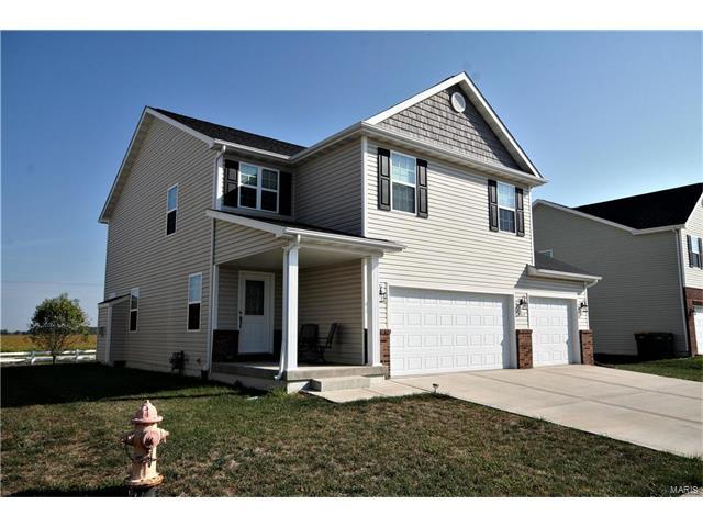 9917 Cessna Court, Mascoutah, IL 62258 (#17077106) :: Holden Realty Group - RE/MAX Preferred