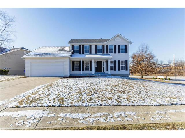 1192 Hampton Meadows Drive, Dardenne Prairie, MO 63368 (#17079513) :: Kelly Hager Group | Keller Williams Realty Chesterfield