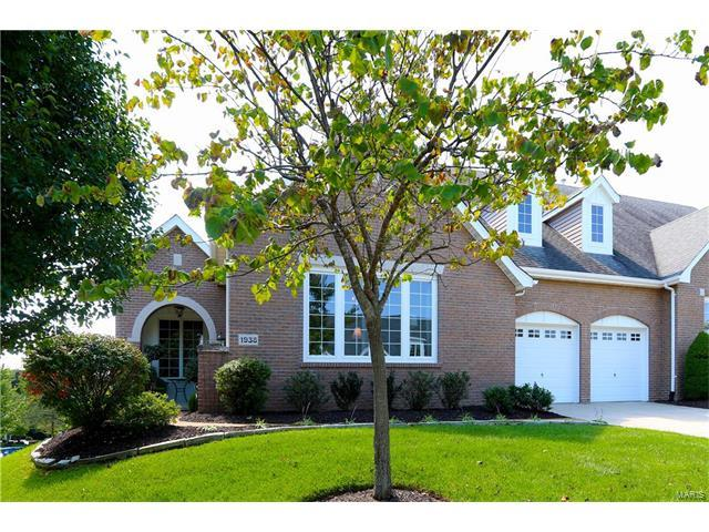 1938 Chesterfield Ridge Circle, Chesterfield, MO 63017 (#17079810) :: Clarity Street Realty