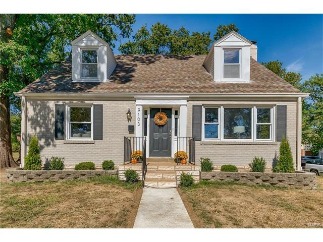 9103 Pine Avenue, Brentwood, MO 63144 (#17079813) :: RE/MAX Vision
