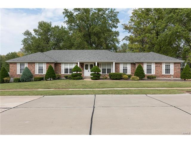 12179 Regency Drive, St Louis, MO 63128 (#17079884) :: RE/MAX Vision