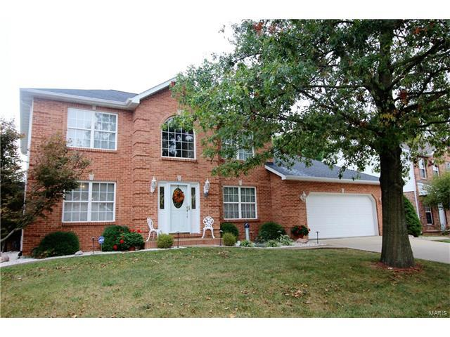 1816 Creekside Drive, Swansea, IL 62226 (#17080657) :: Holden Realty Group - RE/MAX Preferred