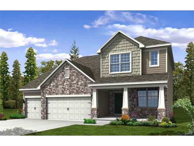 308 Chestnut Creek Circle, Dardenne Prairie, MO 63368 (#17080853) :: The Kathy Helbig Group