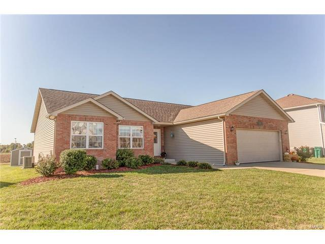 1182 Larkspur Drive, Mascoutah, IL 62258 (#17081485) :: Holden Realty Group - RE/MAX Preferred