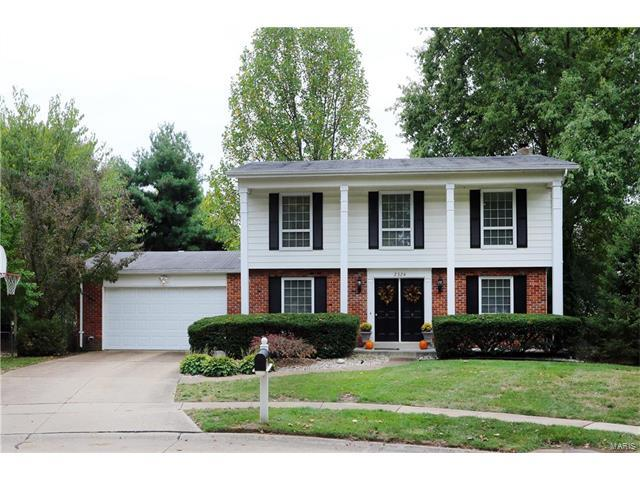 2324 Blue Hill Road, Chesterfield, MO 63017 (#17081732) :: Kelly Hager Group | Keller Williams Realty Chesterfield