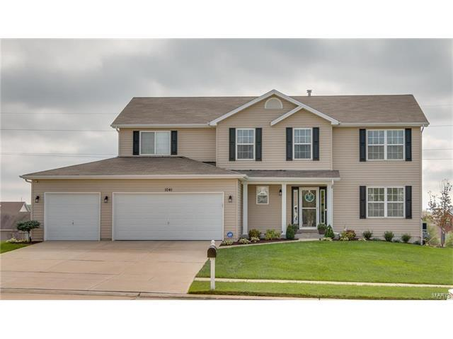 1041 Dardenne Woods Drive, Dardenne Prairie, MO 63368 (#17081757) :: Kelly Hager Group | Keller Williams Realty Chesterfield