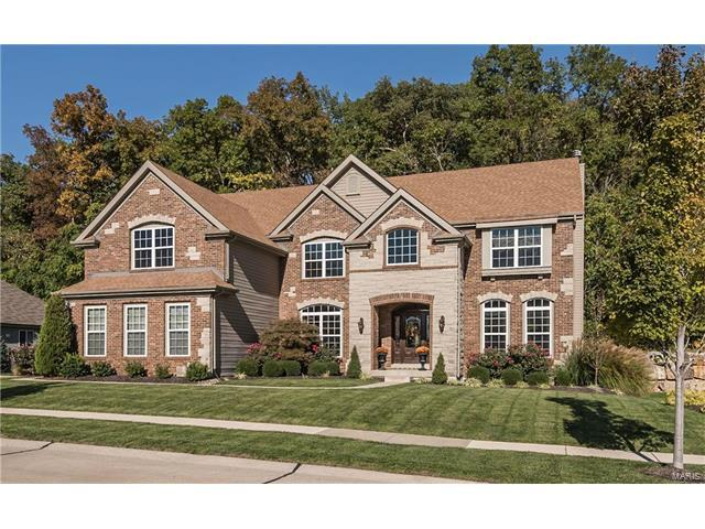 9516 Fringe Court, Sunset Hills, MO 63127 (#17081808) :: The Becky O'Neill Power Home Selling Team