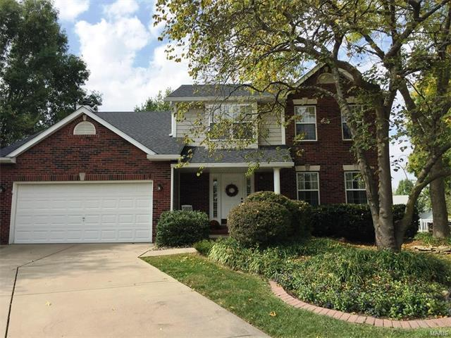 3 Orchid Court, Edwardsville, IL 62025 (#17082158) :: Holden Realty Group - RE/MAX Preferred