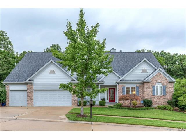 1955 Highland Forest Court, Chesterfield, MO 63017 (#17082171) :: RE/MAX Vision