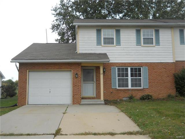 123 Twin Oaks, Shiloh, IL 62221 (#17082260) :: Fusion Realty, LLC