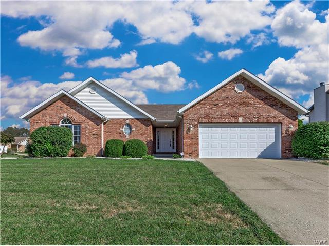 210 Papillon, Swansea, IL 62226 (#17082328) :: Holden Realty Group - RE/MAX Preferred
