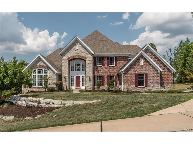 336 Barn Side Lane, Eureka, MO 63025 (#17082336) :: The Becky O'Neill Power Home Selling Team