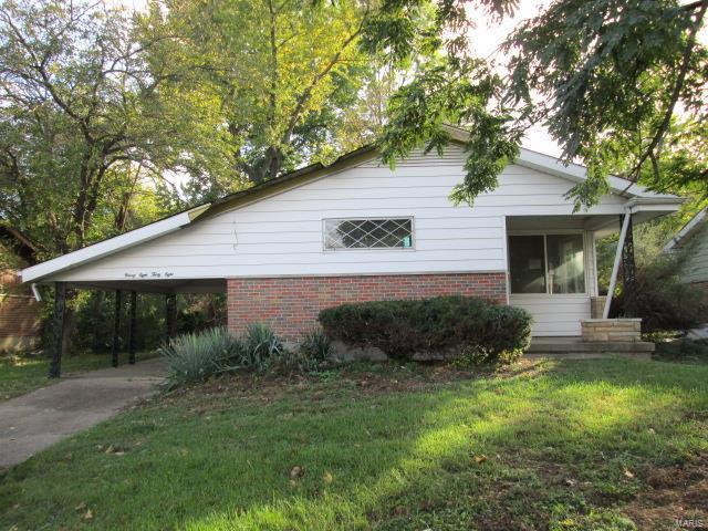9838 Monarch Drive, St Louis, MO 63136 (#17082338) :: RE/MAX Vision