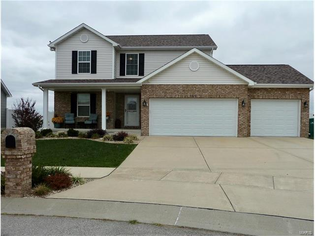9929 Cessna Court, Mascoutah, IL 62258 (#17082371) :: Fusion Realty, LLC