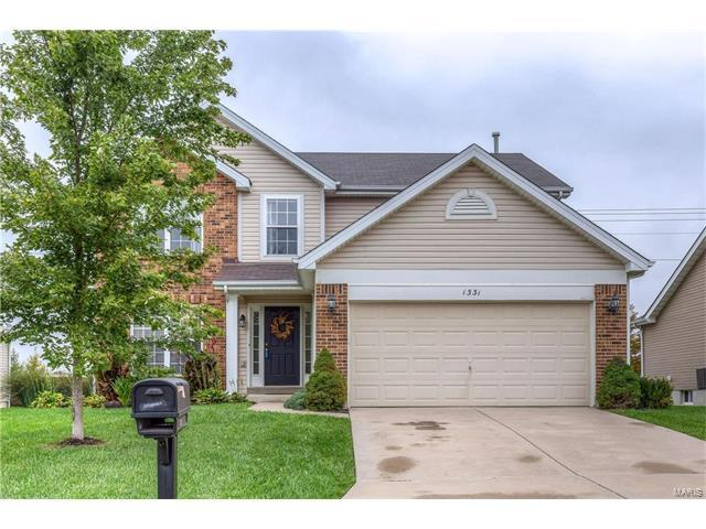 1331 Briarchase, Lake St Louis, MO 63367 (#17082718) :: Kelly Hager Group | Keller Williams Realty Chesterfield