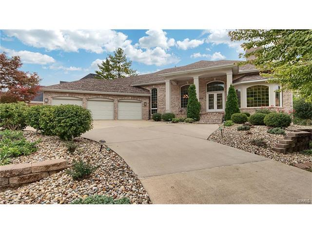 2016 Golf Course View Drive, Edwardsville, IL 62025 (#17082741) :: Holden Realty Group - RE/MAX Preferred