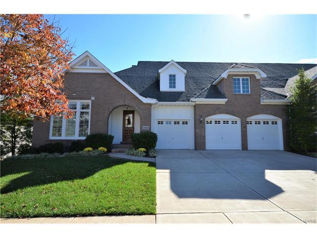 1999 Chesterfield Ridge Circle, Chesterfield, MO 63017 (#17082917) :: Clarity Street Realty