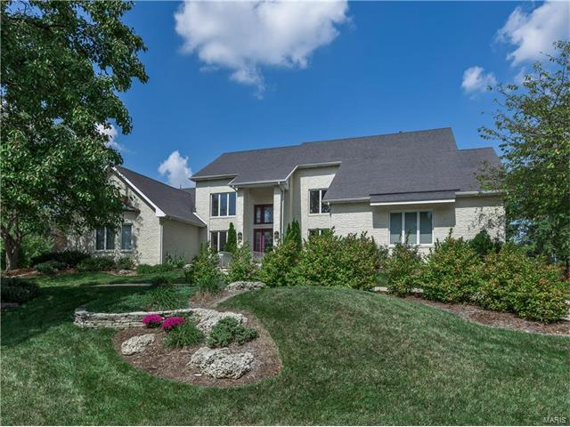 44 Sunset Hills, Edwardsville, IL 62025 (#17082918) :: Fusion Realty, LLC