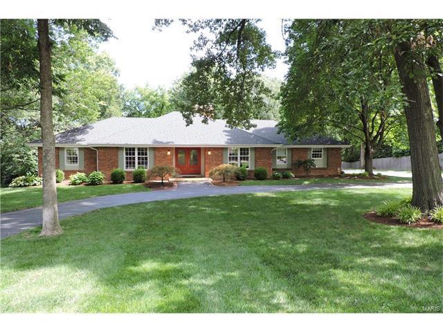 13021 Saller Drive, Sunset Hills, MO 63127 (#17082937) :: The Becky O'Neill Power Home Selling Team
