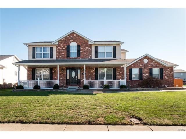 846 Indian Creek Drive, O'Fallon, IL 62269 (#17082949) :: Fusion Realty, LLC