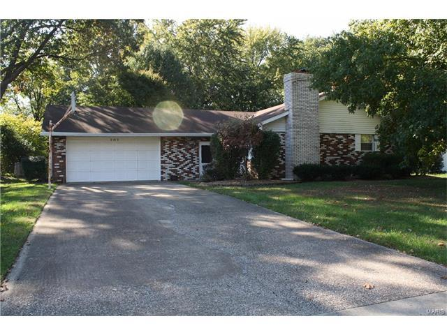 303 Rosemary, Collinsville, IL 62234 (#17084079) :: Fusion Realty, LLC