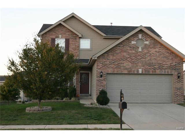 821 Saybrook Falls Drive, Fairview Heights, IL 62208 (#17084229) :: Fusion Realty, LLC