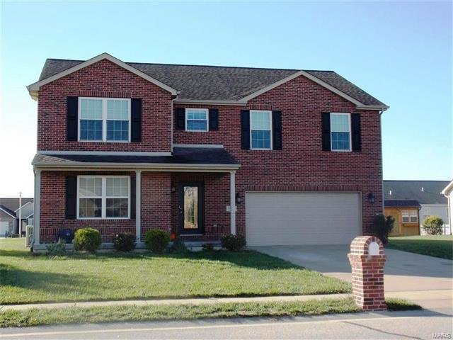 9640 Weatherby Street, Mascoutah, IL 62258 (#17085957) :: Fusion Realty, LLC