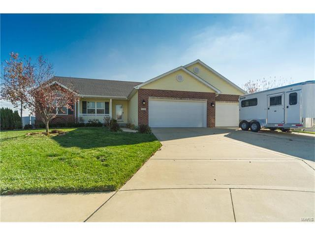 418 Turquoise Court, Mascoutah, IL 62258 (#17090174) :: Fusion Realty, LLC