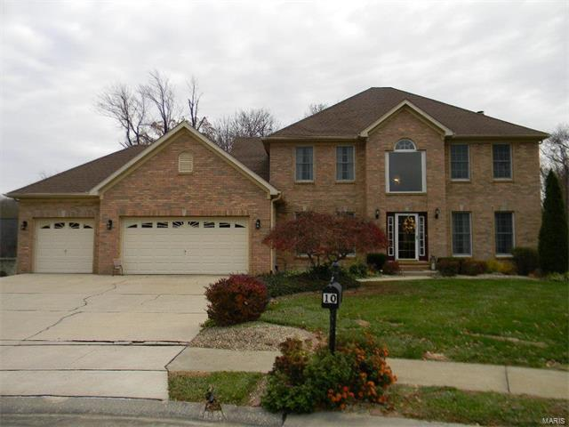 10 Jennifer Lane, Edwardsville, IL 62025 (#17090690) :: Fusion Realty, LLC