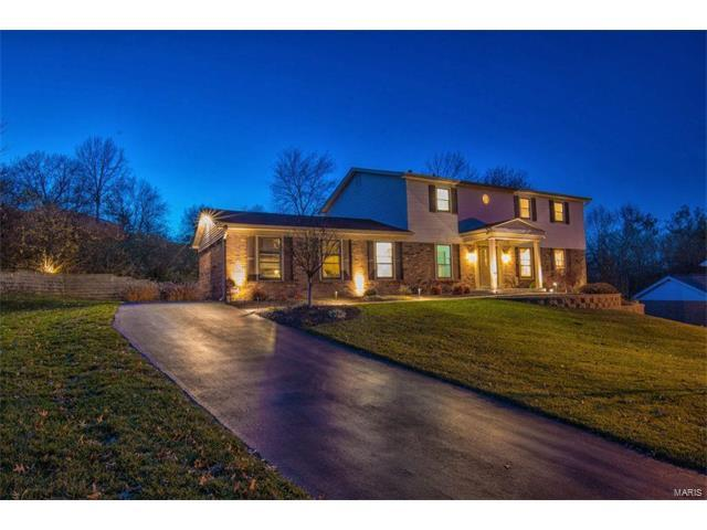 387 Royal Valley Drive, Creve Coeur, MO 63141 (#17091153) :: St. Louis Finest Homes Realty Group