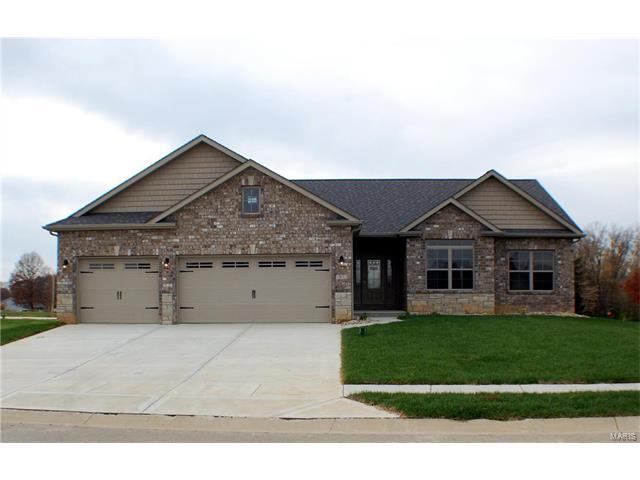 1851 Crimson Oak Drive, Maryville, IL 62062 (#17091576) :: Sue Martin Team