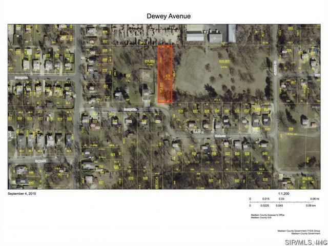 0 Dewey Avenue, Edwardsville, IL 62025 (#17093628) :: Fusion Realty, LLC
