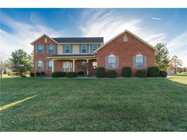 393 Kings Ridge Boulevard, O'Fallon, IL 62269 (#17094208) :: Holden Realty Group - RE/MAX Preferred