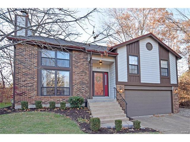 839 Reindeer Drive, Manchester, MO 63021 (#17094883) :: The Kathy Helbig Group