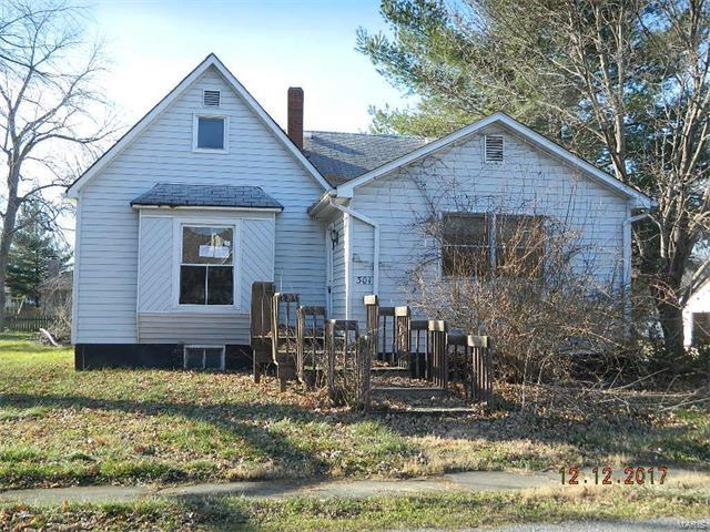 301 Park Street, Worden, IL 62097 (#17095027) :: RE/MAX Vision