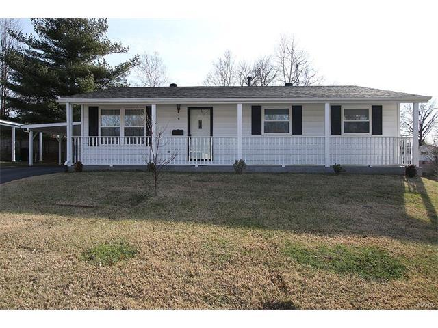 9 Rosehaven Drive, Belleville, IL 62221 (#17095048) :: Holden Realty Group - RE/MAX Preferred