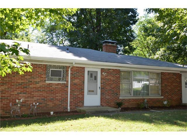 216 N 35th Street, Belleville, IL 62226 (#17095164) :: Holden Realty Group - RE/MAX Preferred