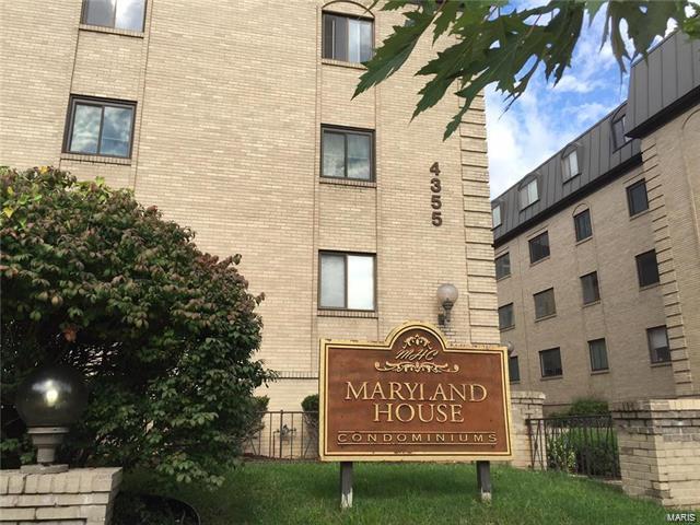 4355 Maryland Avenue #124, St Louis, MO 63108 (#17095787) :: PalmerHouse Properties LLC