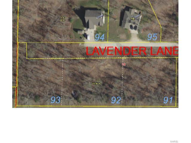 0 Lot 92 - Lavender Ln, Saint Robert, MO 65583 (#17095917) :: Walker Real Estate Team