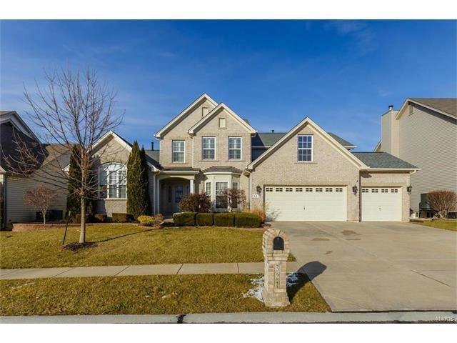 321 Magnolia Valley Drive, O'Fallon, MO 63366 (#17097157) :: Clarity Street Realty