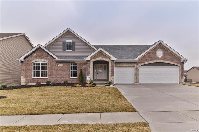 830 Bluff Brook Drive, O'Fallon, MO 63366 (#17097374) :: Kelly Hager Group   Keller Williams Realty Chesterfield
