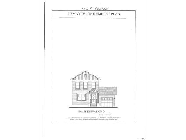 132 E Felton, St Louis, MO 63125 (#18000287) :: Clarity Street Realty