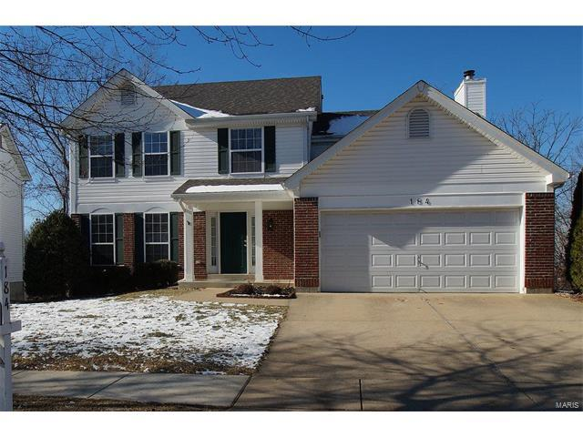 184 Brighthurst Drive, Chesterfield, MO 63005 (#18001180) :: Clarity Street Realty